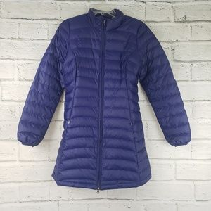 Patagonia nano puff parka zip up jacket purple